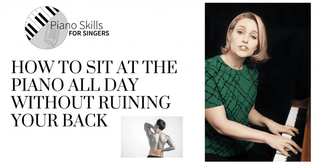VIDEO:  How to sit at the piano all day without ruining your back