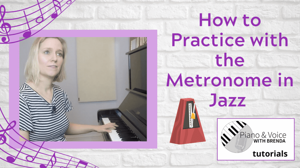 VIDEO:  How to practice jazz with the metronome
