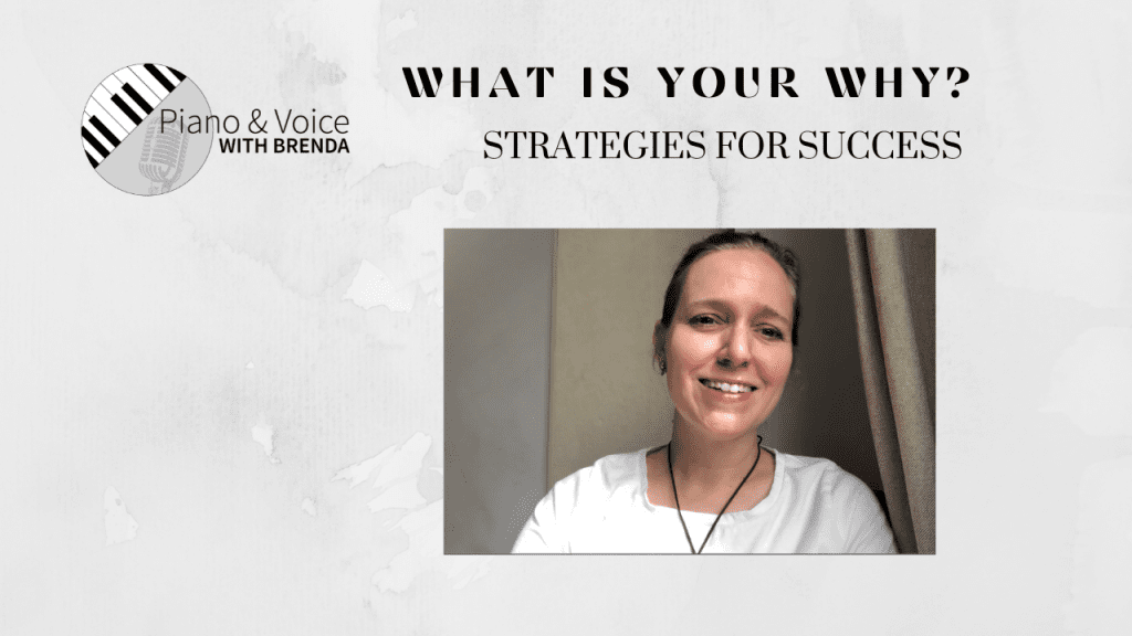 Video:  What is your why?  Strategies for Success