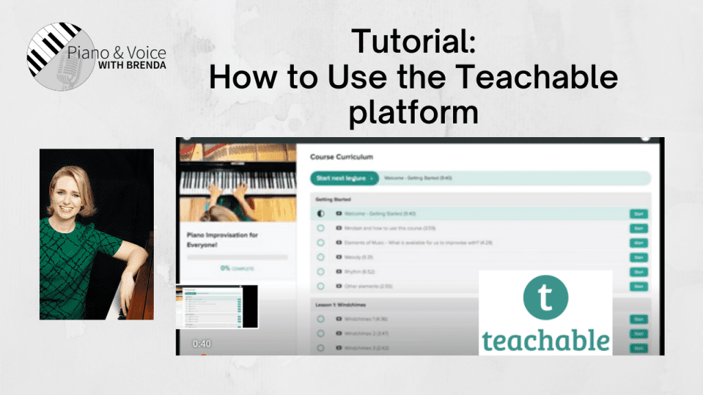 Getting Started:  How to use the Teachable Platform