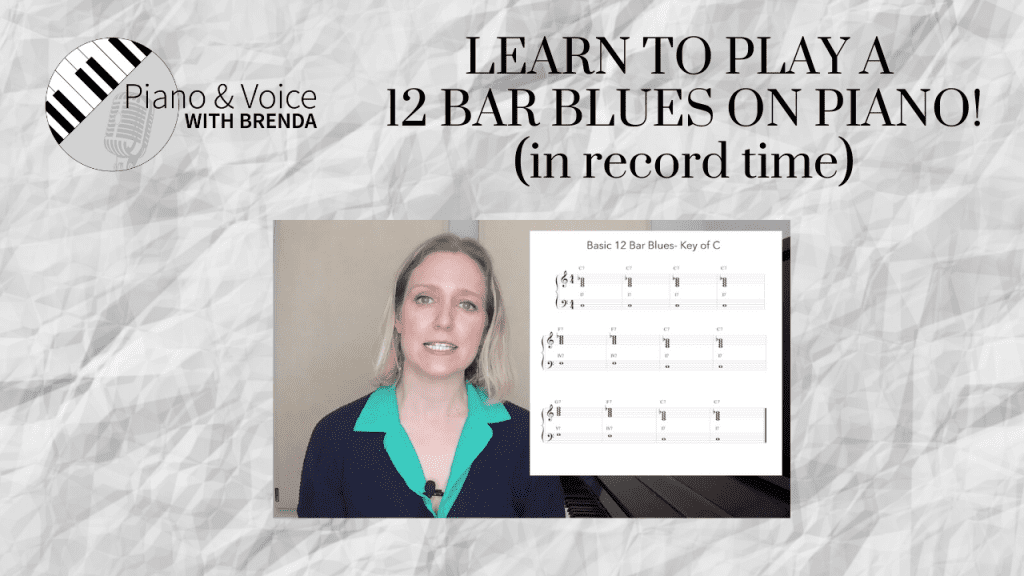 VIDEO:  Learn to play a blues in record time!