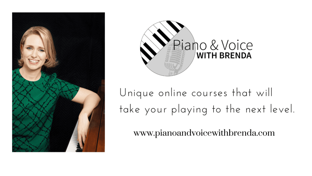 Which Piano and Voice with Brenda online course is right for me?