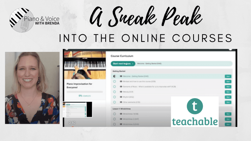 A Sneak Peak at the Entire Suite of Online Courses!