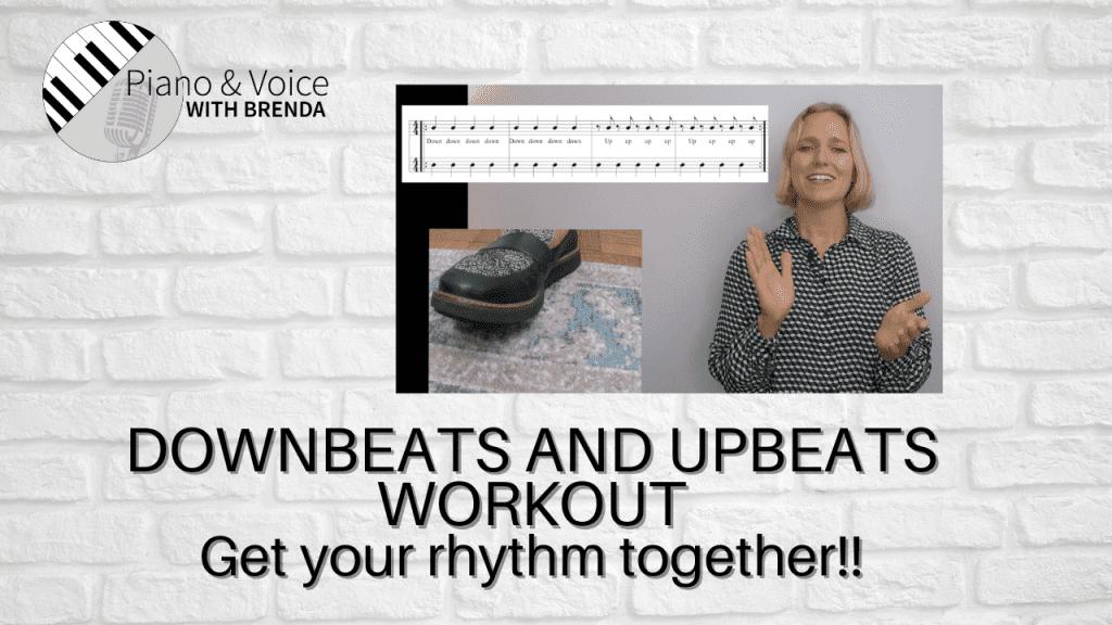 Downbeats and Upbeats Workout