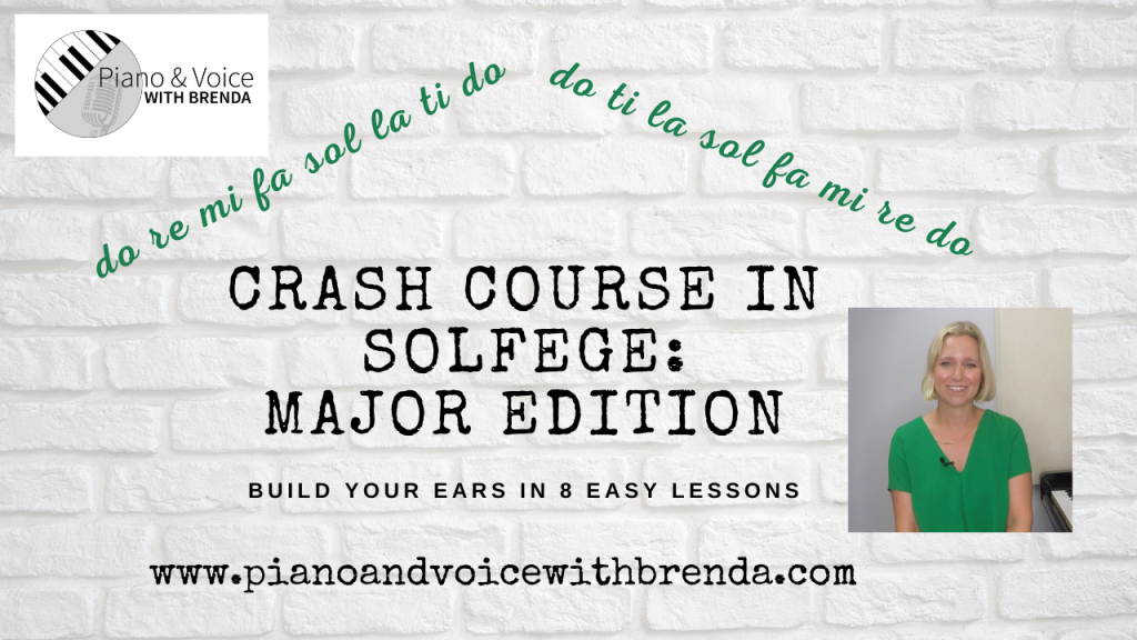 Crash Course In Solfege with website link