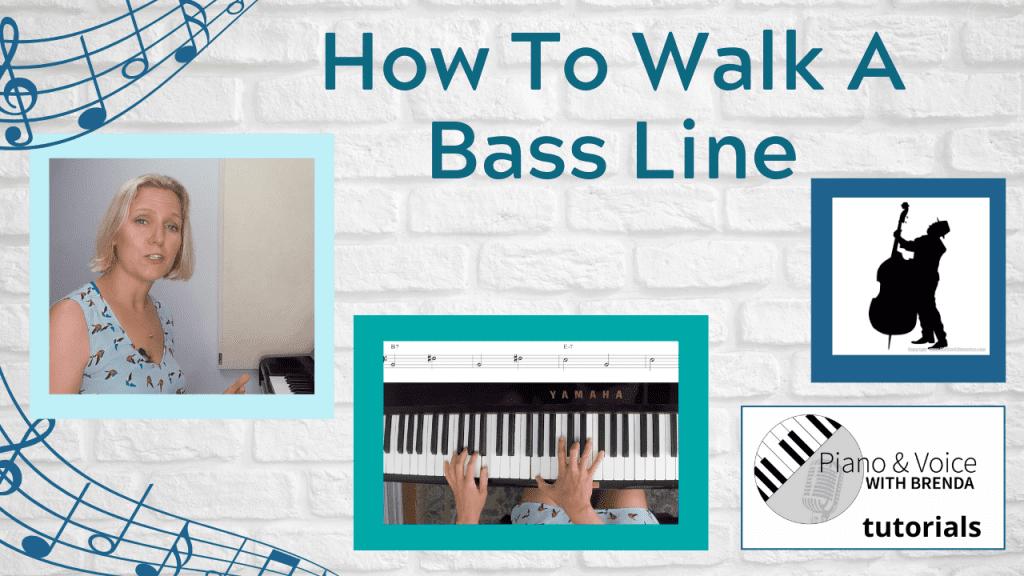 How to Walk a Bass Line