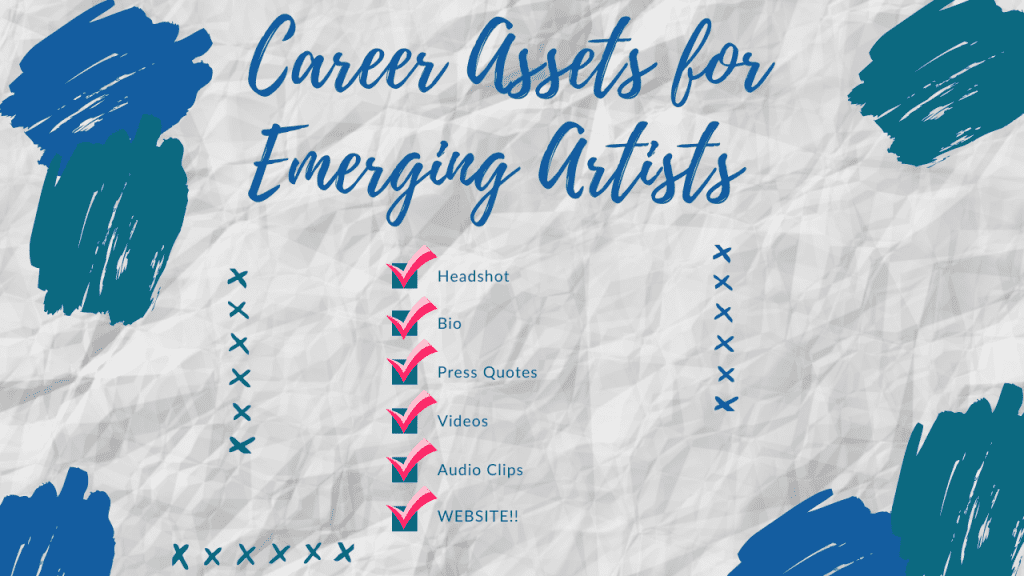 Career Assets for Emerging Artists