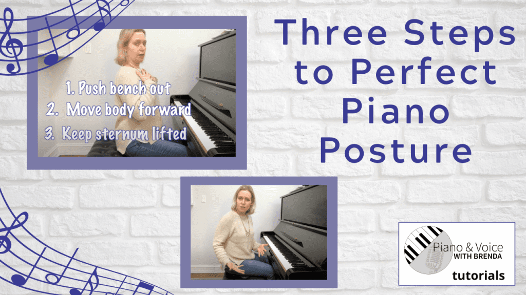 3 Steps to Perfect Piano Posture