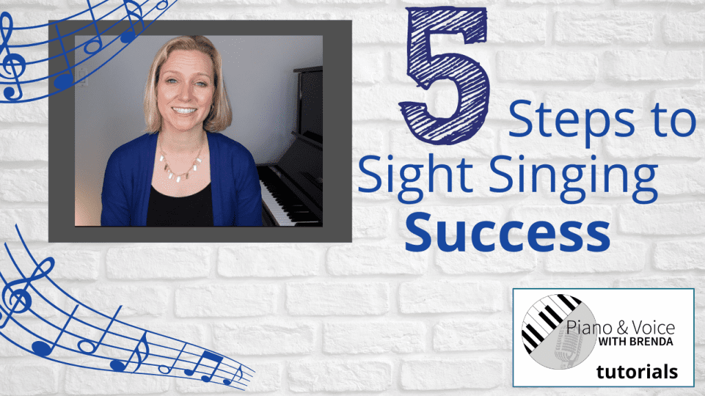 5 Steps to Sight Singing Success