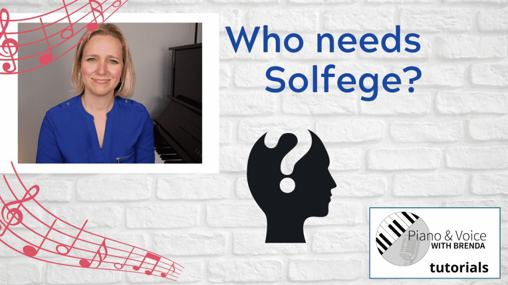 Who Needs Solfege?
