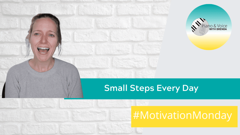 Motivation Monday: Small Steps Every Day