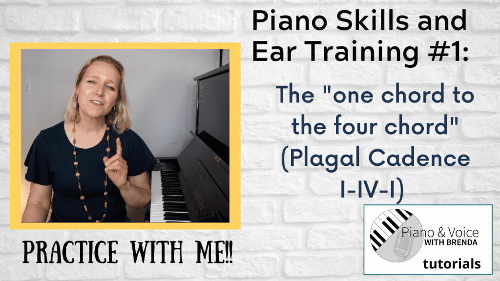 Piano Skills and Ear Training #1