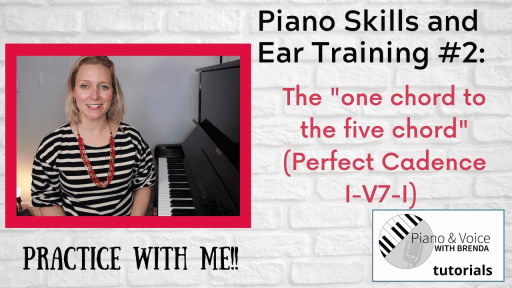 Piano Skills and Ear Training #2