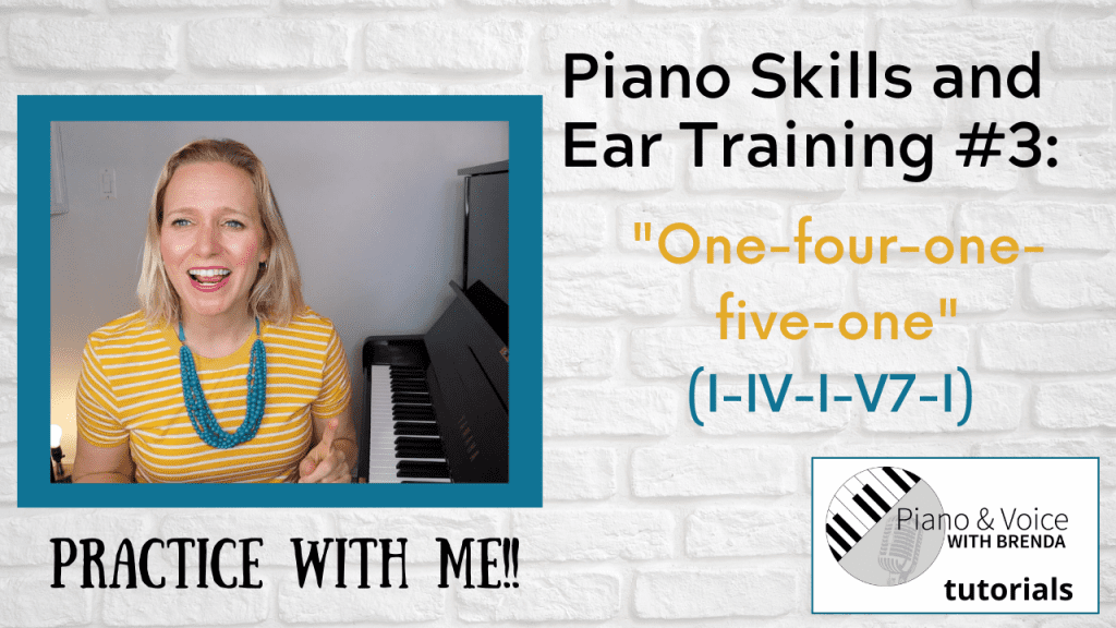 Piano Skills and Ear Training #3