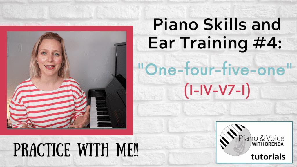 Piano Skills and Ear Training #4