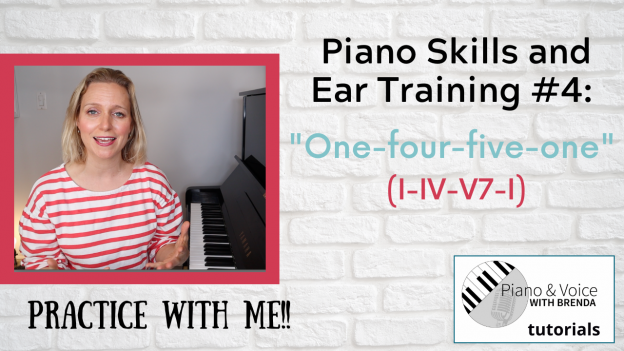 Professional pianist teaching piano skills and ear training at the piano