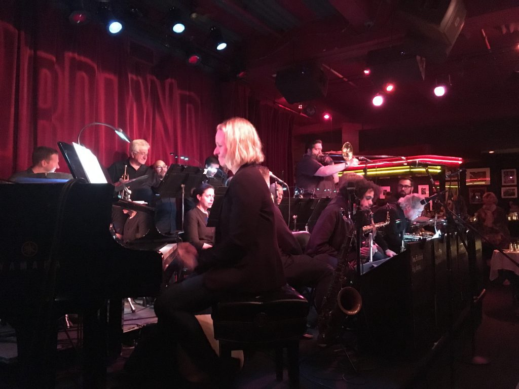 Brenda performing at The Jazz Standard in New York City