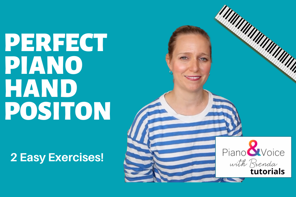 Pianist and teacher Brenda Earle Stokes teaching perfect hand position